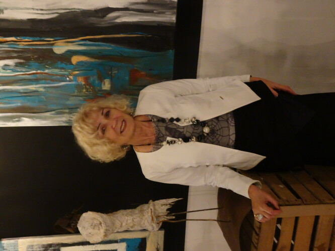 Margaret Bolinska  + schilderij